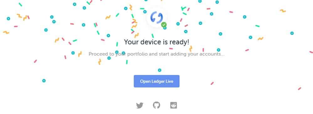 Ledger Nano - Ledger is Live